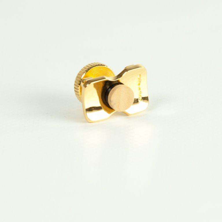 OTLUPOR16 ottone lucido placcato Oro 24 carati H