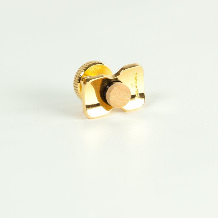 ARLUPOR16 argento 925 lucido placcato Oro 24 carati H