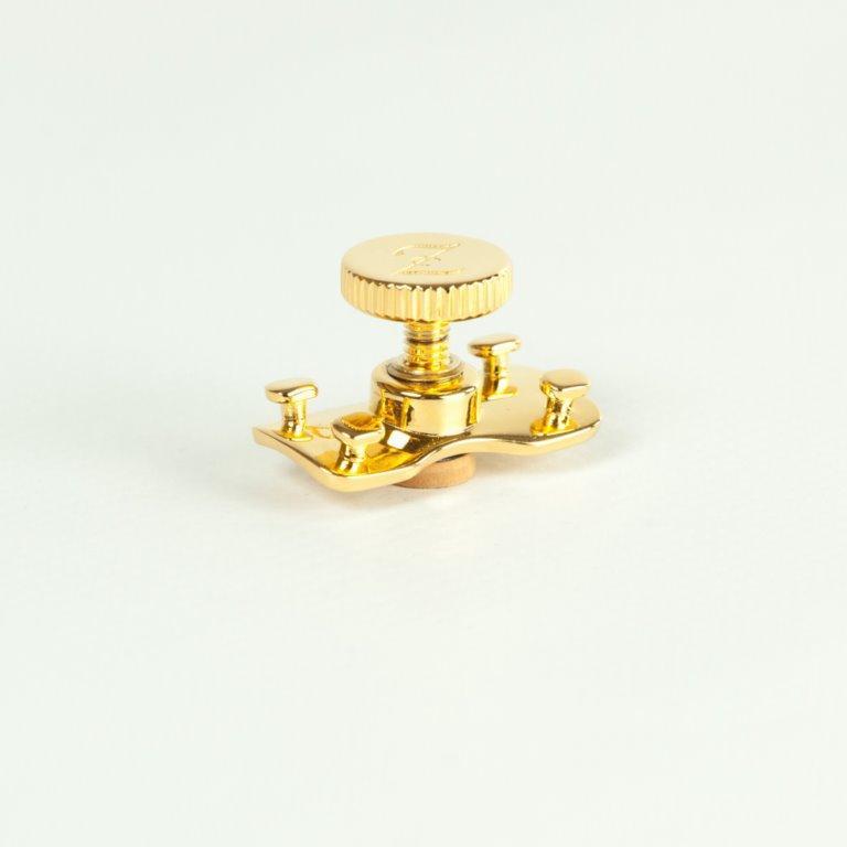 ARLUPOR21 argento 925 lucido placcato Oro 24 carati
