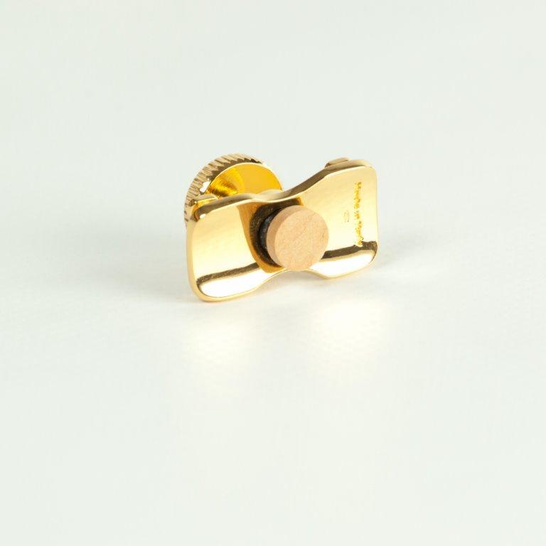 ARLUPOR21 argento 925 lucido placcato Oro 24 carati H