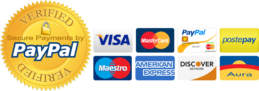 pagemnti sicuri / secure payments